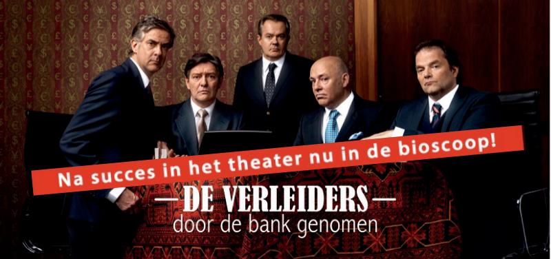 Bioscooppremière *De verleiders - Door de bank genomen*